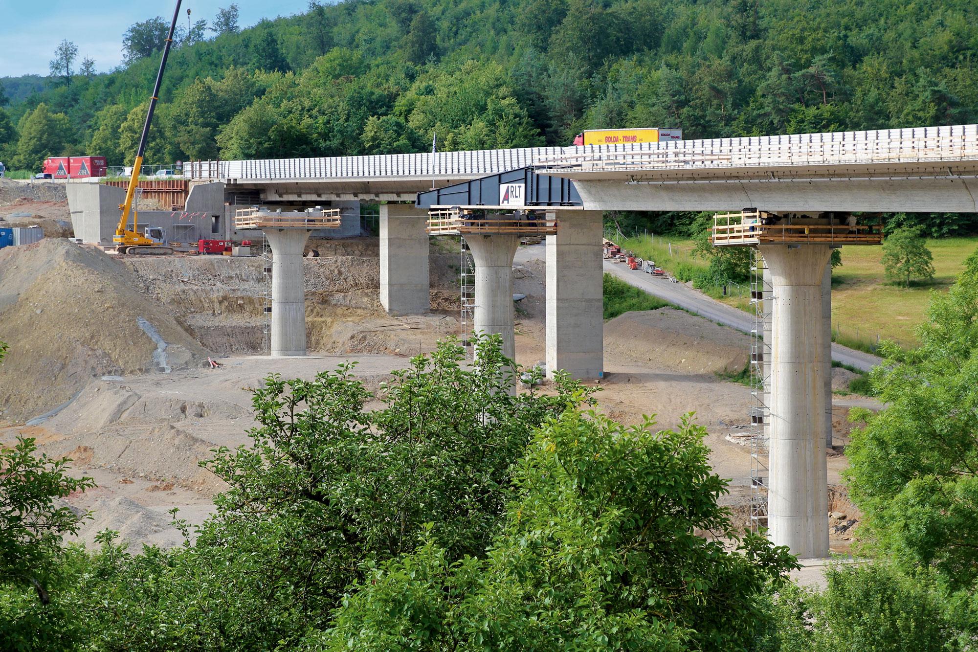 BAB A7BW622aTalbrücke Klöffelsberg