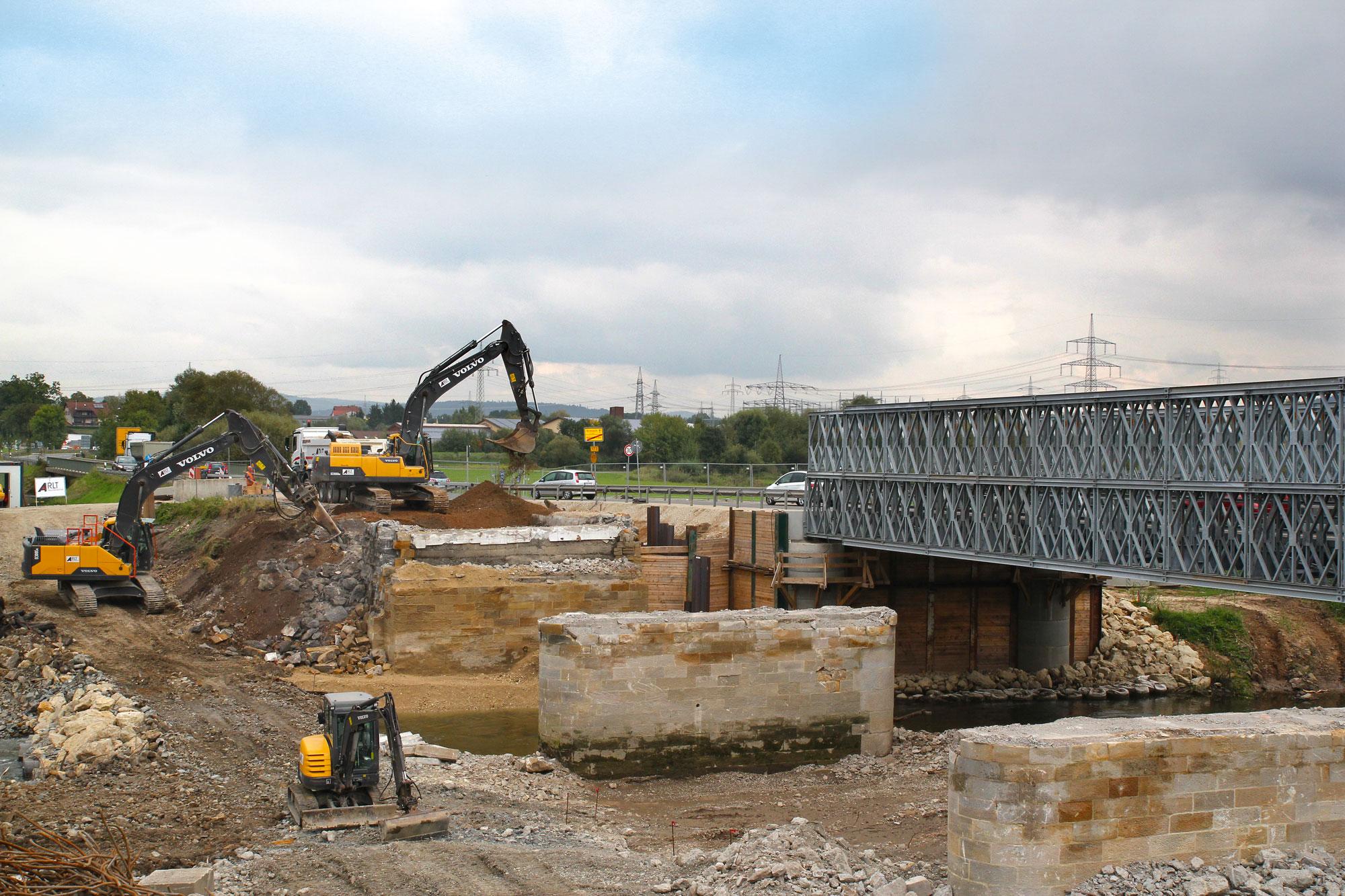 B173 Hochstadt Erneuerung der Brücke über den Main
