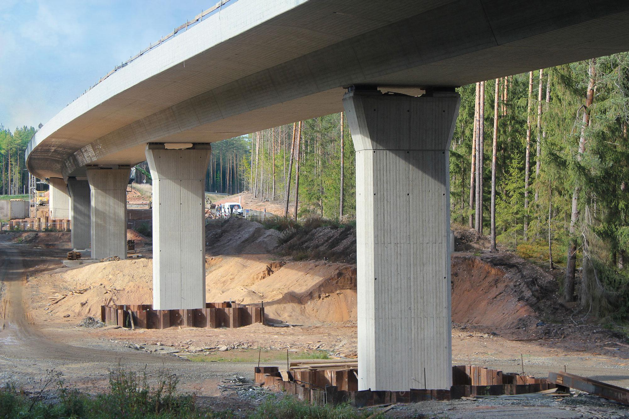 Ortsumfahrung Weiherhammer bei WeidenRöthenbachtalbrücke