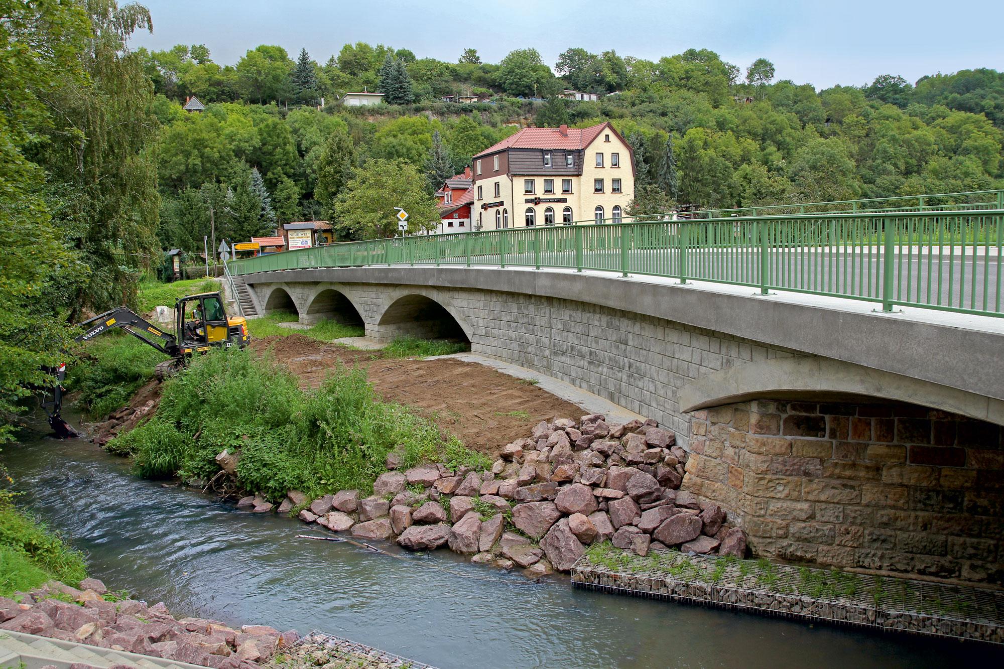 L 204Schönburg – Brücke über die Wethau