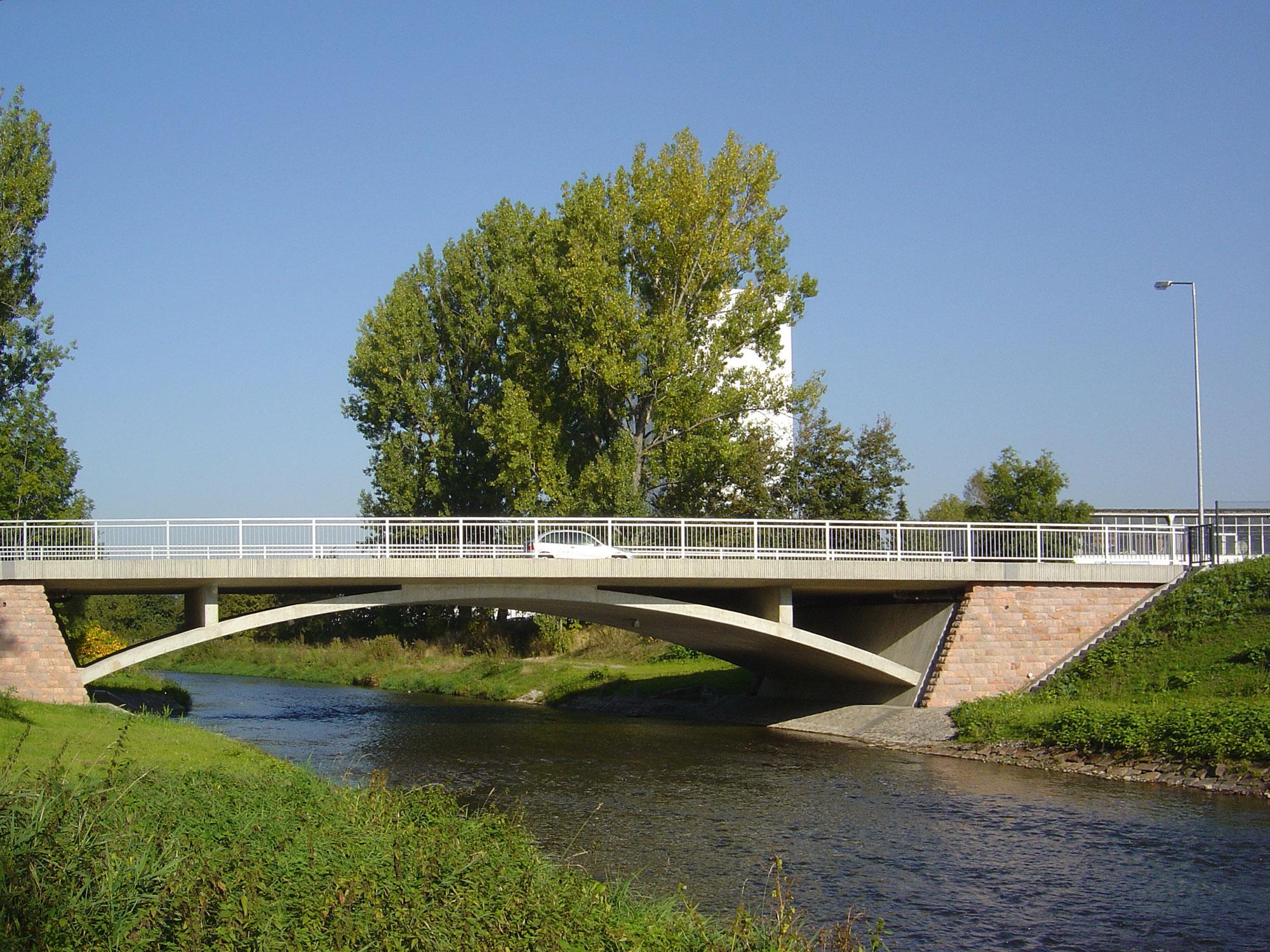 Brücke über die Chemnitz